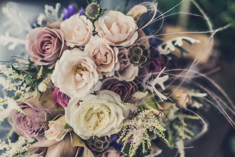 une table de mariage