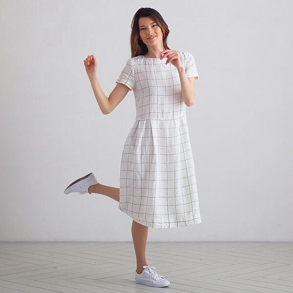 Présentation de votre nouvelle robe en lin préférée