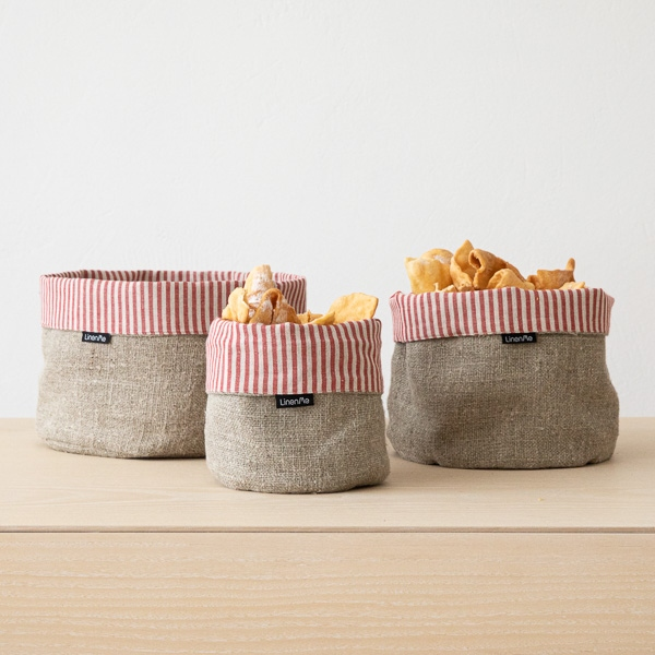 Accessoires de cuisine en lin