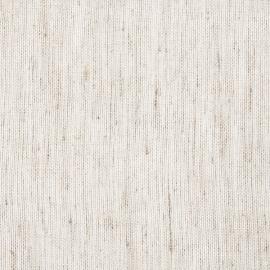 Échantillon de voilage en lin Twist coloris blanc
