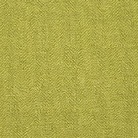 Toile de lin Emilia coloris Vert prasin