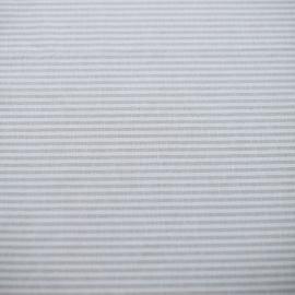 Échantillon de toile de lin Jazz à rayures beiges