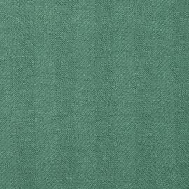 Toile de lin Emilia vert profond