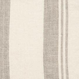Échantillon de toile de lin Linum coloris crème
