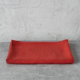Drap de bain ou serviette de douche en lin lavé Lara Orange