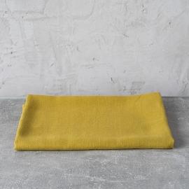 Drap de bain ou serviette de douche en lin lavé Lara Citrine