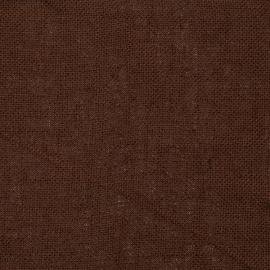 Toile de lin Rustico coloris marron