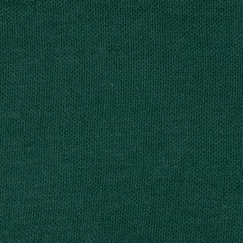Toile de lin Rustico coloris vert foncé
