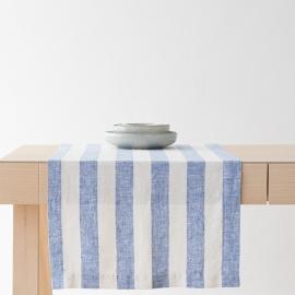 Chemin de table Philippe coloris Bleu