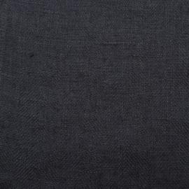 Échantillon de oile de lin Teal Lara