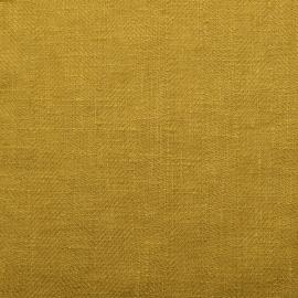 Échantillon de toile de lin citrine Lara