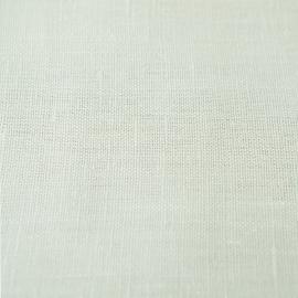 Échantillon de toile de lin blanc cassé