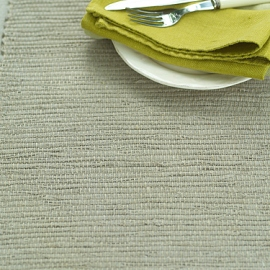 Set de table en lin Inga coloris naturel