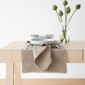Set de Table en Lin Rustic Natural