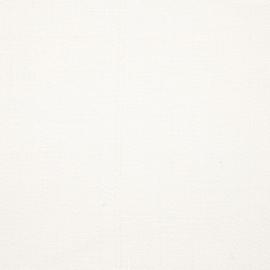 Échantillon de toile de lin blanc Louisa