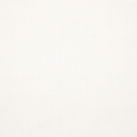 Toile de lin Louisa coloris blanc
