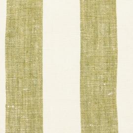 Échantillon de toile de lin coloris olive vert Philippe