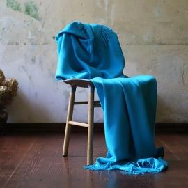 Plaid Bella, Baby Alpaga Turquoise