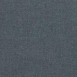 Tissu en lin lavé à la pierre bleue