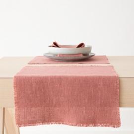 Set de Table Canyon Rose Linen Rustic