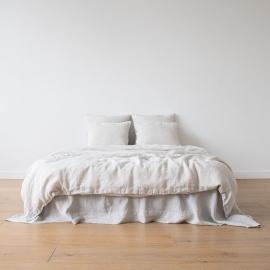 Parure de lit en lin lavé Silver
