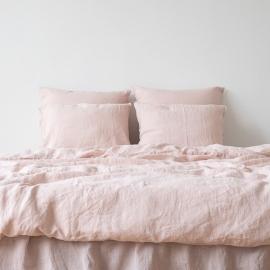 Rosa Parure de Lit en Lin Stone Washed