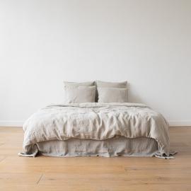 Parure de lit en lin lavé Natural