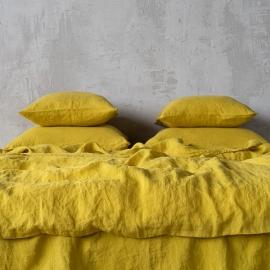 Citrine Parure de lit en Lin Stone Washed