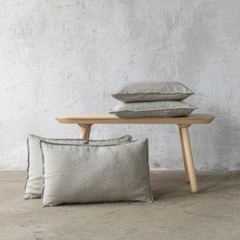 Rideau en Lin Stone Washed, Taupe