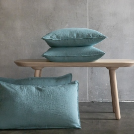 Housse de Coussin Lin Stone washed Stone Washed