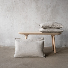 Housse de Coussin Lin Stone Washed Natural