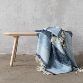 Plaid en laine Valentino Blue