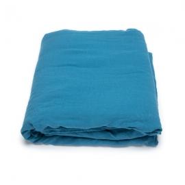 Housse de couette en lin lavé Sea Blue