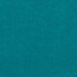Sapphire Échantillon de Toile de Lin Stone Washed
