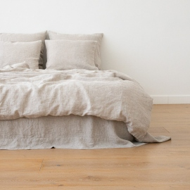 Natural Housse de Couette en Lin Crushed