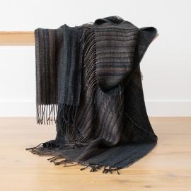 Black Stripe Laine Plaid Paolo