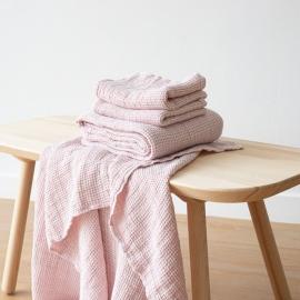 Set de draps de bain en lin big Rosa