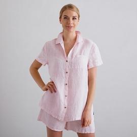 Pink Pinstripe Pyjama Lin Emilia