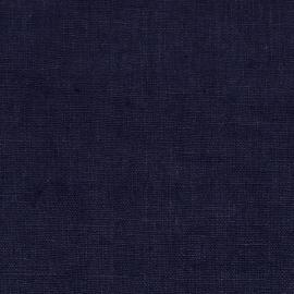 Tissu Lin Lavé Terra Navy