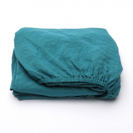 Sapphire Drap Housse Bonnet Profond Stone Washed