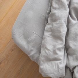 Cool Grey Drap Housse Bonnet Profond Crushed