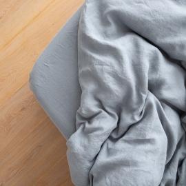 Slate Blue Drap Housse Bonnet Profond Crushed
