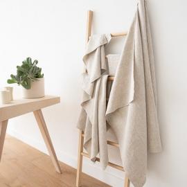 Ensemble de serviettes de bain en lin Naturelle Provence