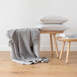Plaid en laine Mérinos Marcus Grey