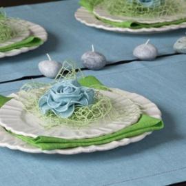 Terra Bleu & Twist Vert citron