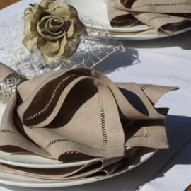 Collection Diana de serviettes de table Sable